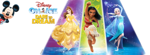 Disney On Ice - Dare to Dream Banner Ad