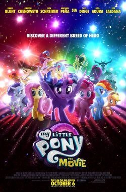 My Little Pony Movie Poster by Lionsgate
