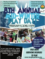 8th Annual Mid-Winter Play Day