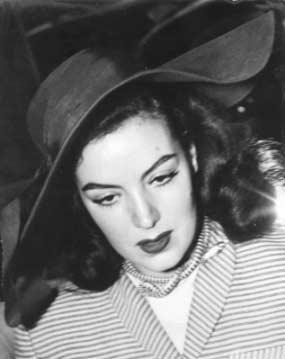 María Félix en el Hotel Nacional