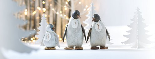 Painted Emperor Penguins
