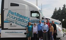 Leonards Express truck