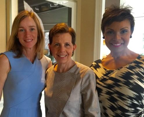 Kathleen Biden with Adrienne Arsht and Tisha Hyter