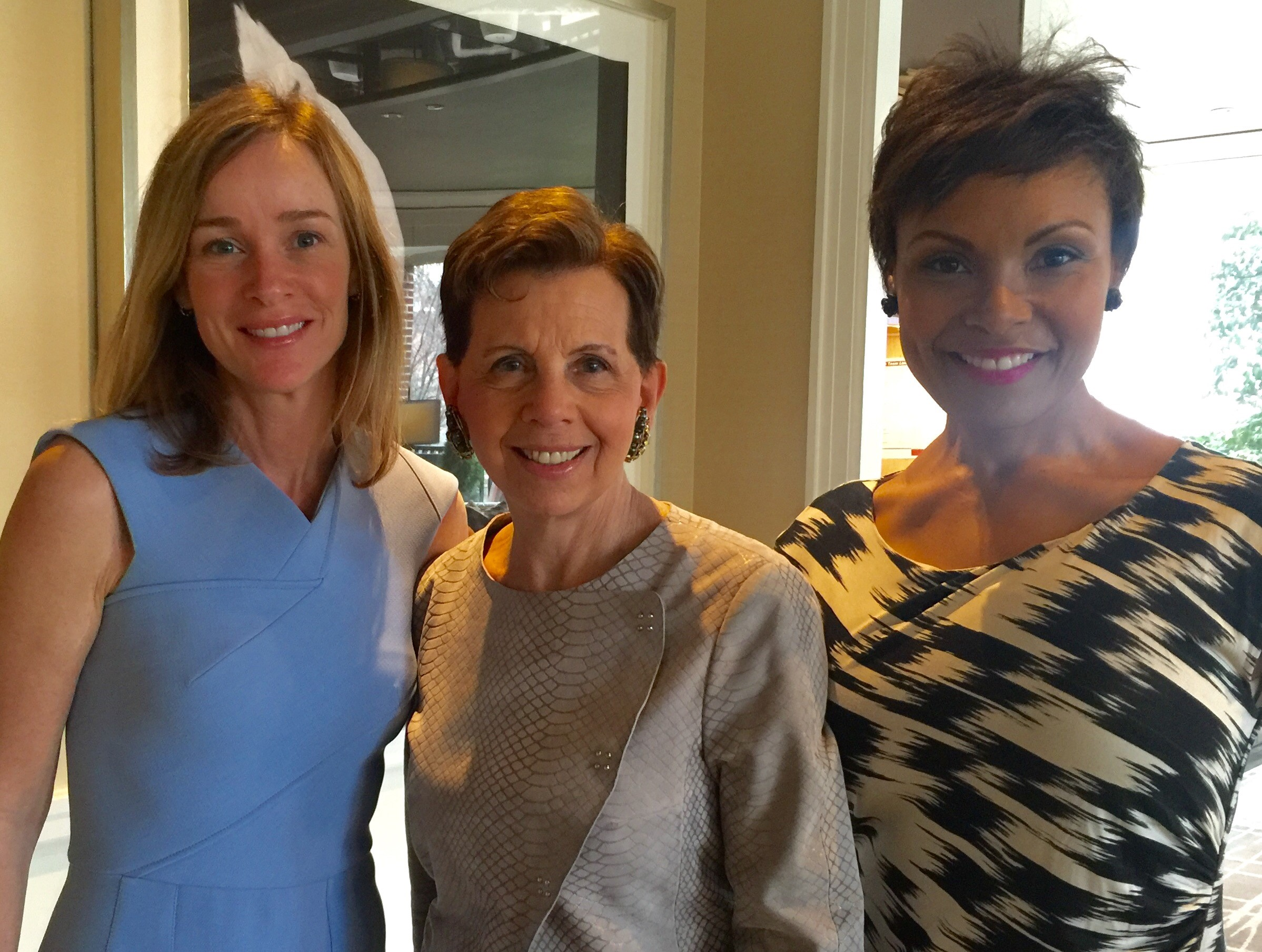 Kathleen Biden with Adrienne Arsht and Tisha Hyter