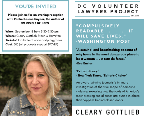 DC Volunteer Lawyers Project – Fighting for Victims & Children