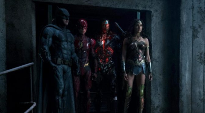 Leaked Images from Justice League surface