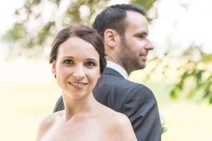 Frisch verheiratet - Hochzeitsfotografie Dresden