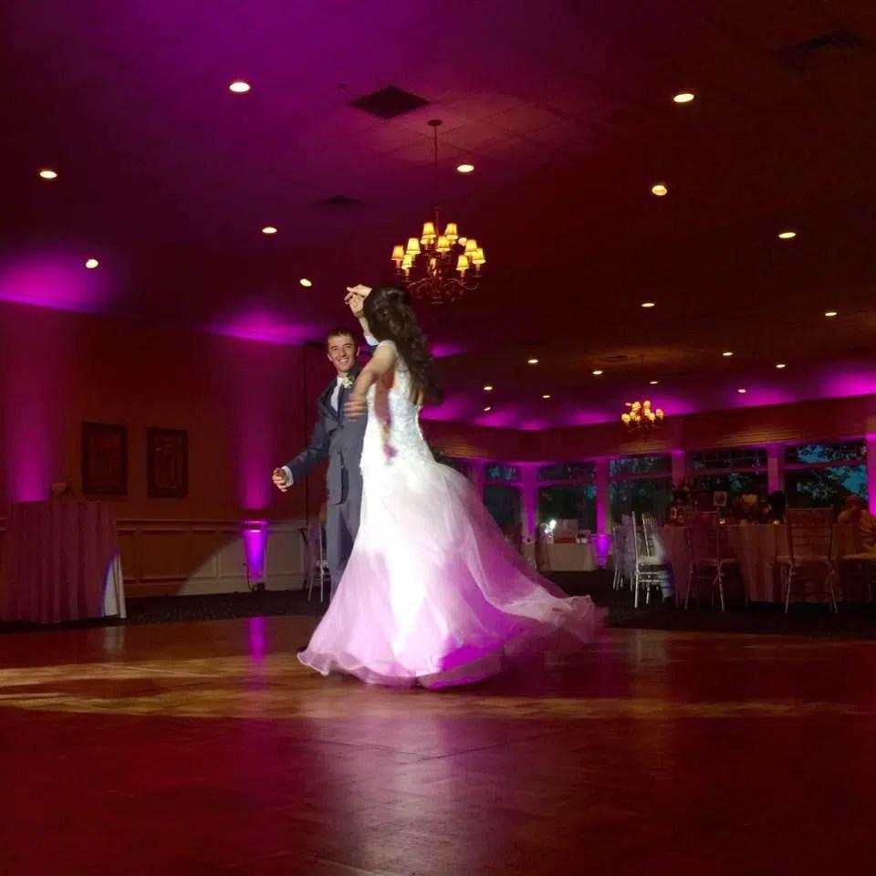 dance floor lighting dramatic