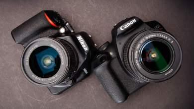 Photo of نيكون أم كانون .. أي كاميرا يجب عليك شرائها