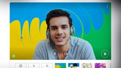 Photo of جوجل ميت تدعم الخلفيات المخصصة في مكالمات الفيديو