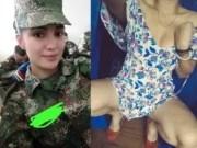 Militar safada caiu na net com videos e fotos