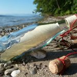 image of a message within a bottle - for Dorreen Dembski Communication Services