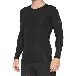 100% R-Core Concept Long Sleeve Jersey Black; 100% Jersey;