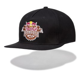 RED BULL RAMPAGE FLYHIGH FLAT CAP; Red Bull Hat; Red Bull Flat Cap; Red Bull Snapback