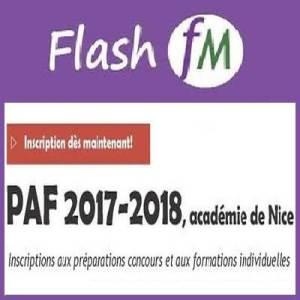 Formation PAF (Préparations concours), Inscription dès maintenant.