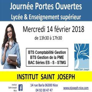 Portes ouvertes à Saint Joseph Nice - Mercredi 14 Février 2018