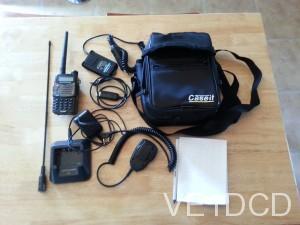 CD carry case for uv5r