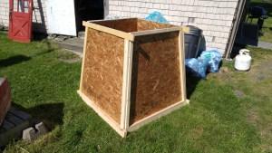 Form for concrete base