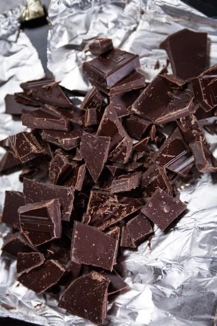 Dark Chocolate Shards