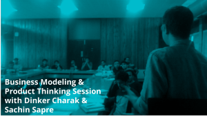 Product Thinking Sessions at IIM Ahmedabad IIMAvericks Event
