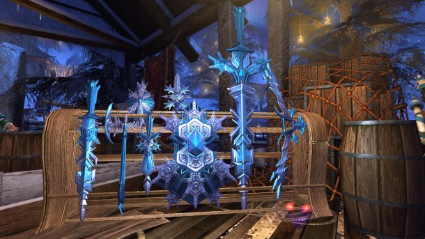 Neverwinter Guide to the Winter Festival - Fashion Weapons
