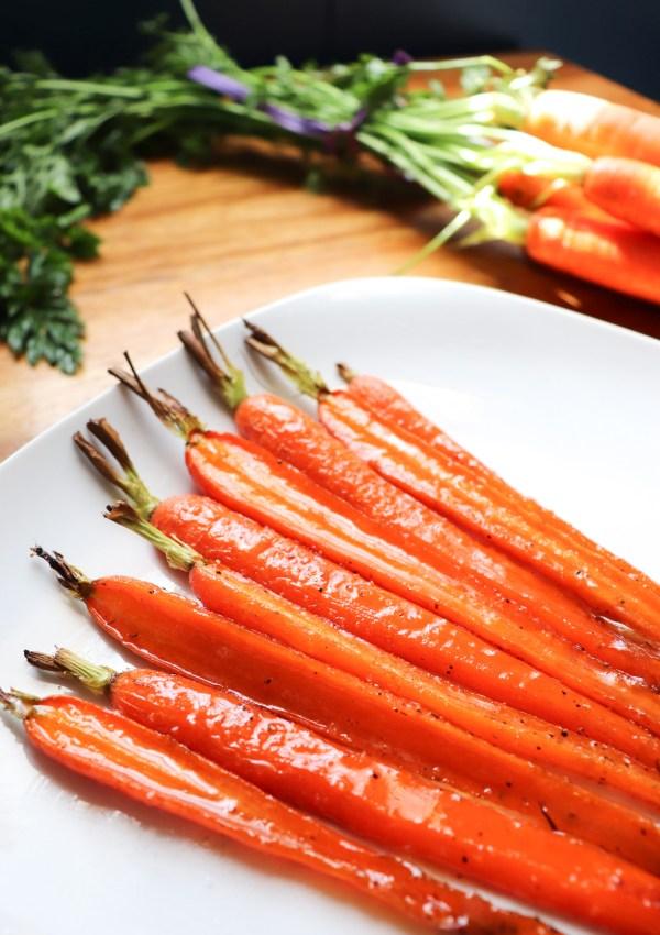 Honey Butter Roasted Carrot Recipe – #crunchout