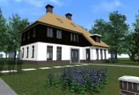 Vrijstaande woning Kootwijkerbroek