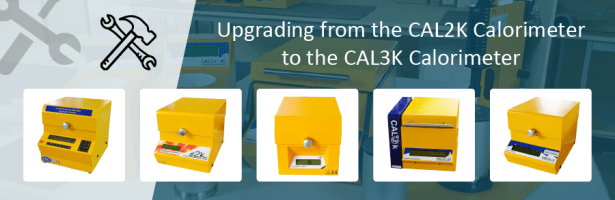 Upgrading from the CAL2K Calorimeters to CAL3K Calorimeters