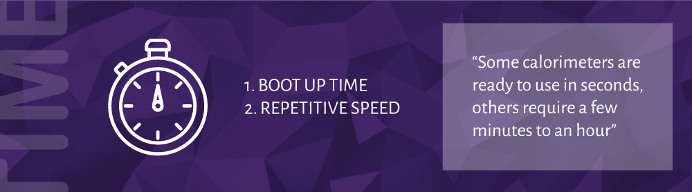 Calorimeter Boot Up Speed and Repetitive Speed | 10 Quick Calorimeter Tips | DDS Calorimeters