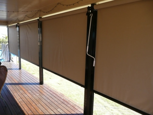 Channel-It Blinds, not just for patios!