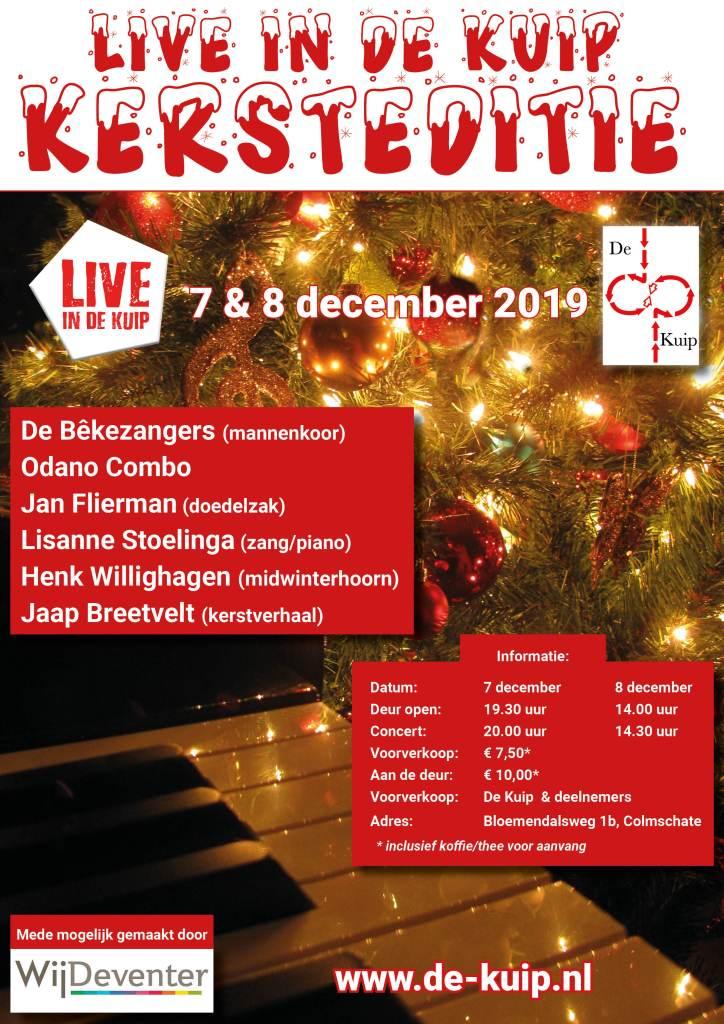 2019 12 Live in De Kuip Kersteditie - Poster