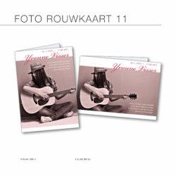 Rouwkaarten met foto, full color gedrukt
