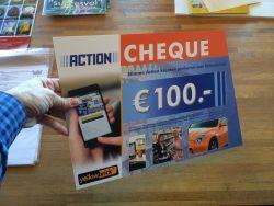 cheque / waardebon