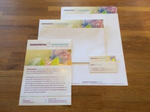 Huisstijl, drukwerk, homeopathie, wervershoof