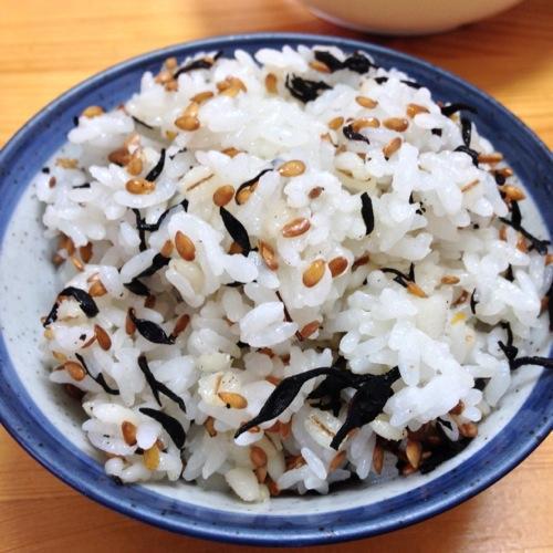 500アマニひじきご飯