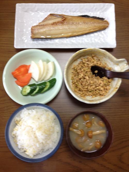 th_ホッケの健康朝食
