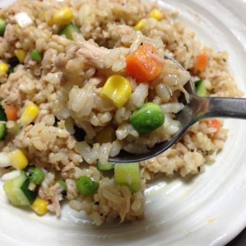 th_えごまツナの玄米サラダ