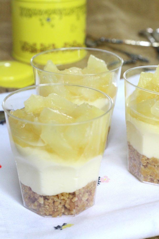 Ananas Kokos Monchoutaart