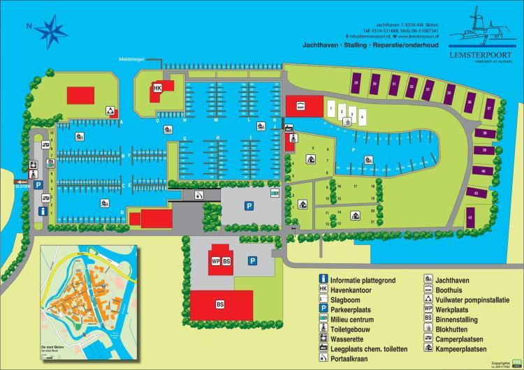Karte Lemsterpoort