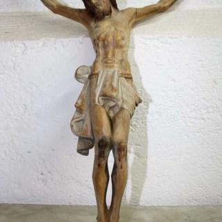 1. Scultura Cristo crocifisso, frontale