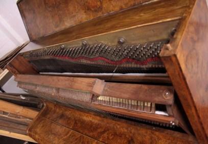16. Pianoforte Reogh 1890, dopo il restauro particolare meccanica interna