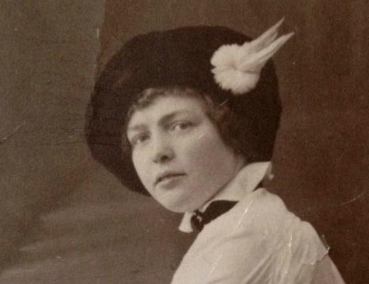 mijn oma toen ze jong was
