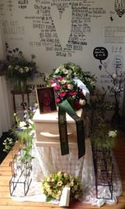 moeder overleden het afscheid was bij ons thuis