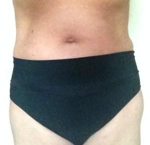 50 plus bikinibroekje tussen heup en taille