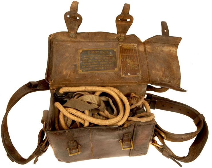 Rare Regimentally Marked Wwi British Field Telephone