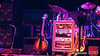 Bobby's Guitars, set break