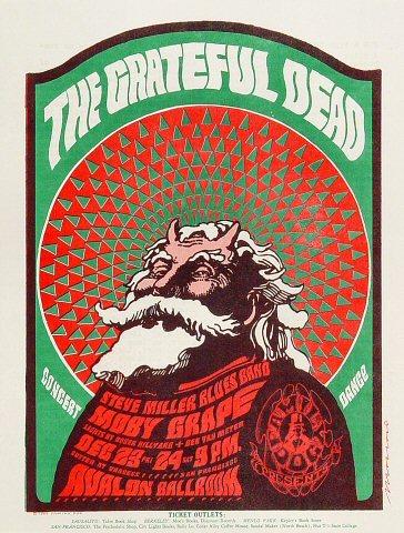 Grateful Dead Satanic Santa 1966