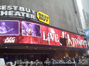 Furthur at the Best Buy Theater in NYC
