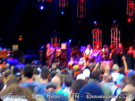 Furthur - Boca Raton - NFA - Deadheadland 2011