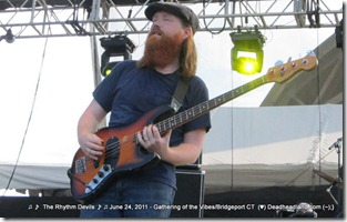 Reed Mathis  - The Rhythm Devils - Gathering of the Vibes 2011
